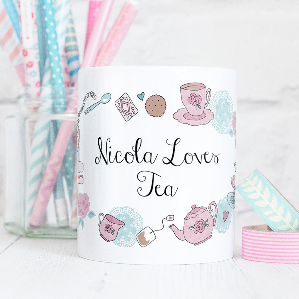 Time for Tea Mug Personalised