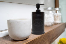 Load image into Gallery viewer, Black Metal Soap Dispenser