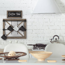 Load image into Gallery viewer, Barn Door Wall Mounted Mug Rack