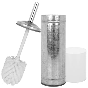 Galvanized Toilet Brush with Holder