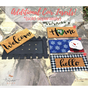 Welcome Mat Coir Insert - Home