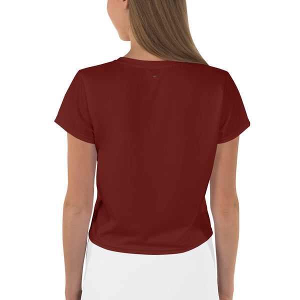 West Apparels Women Crop Tee T-Shirt