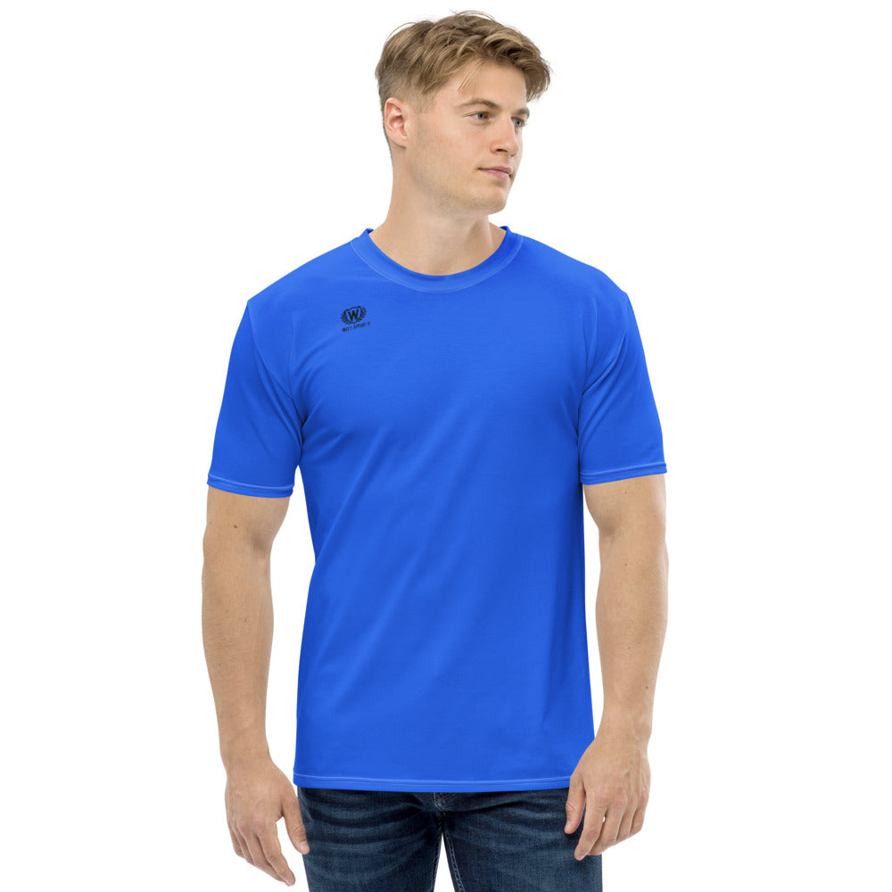 West Apparels Men's Sport style Right Chest Performance Short Sleeve T-shirt