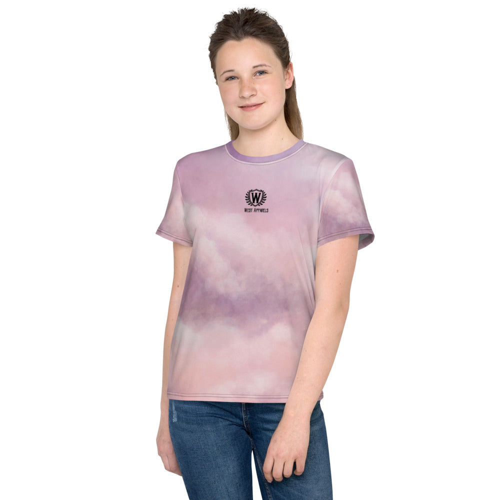 West Apparels Classic Print Girl's T-Shirt