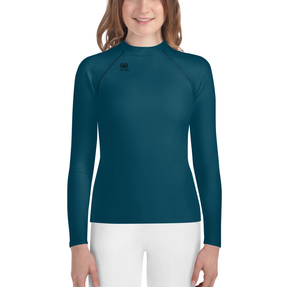 West Apparels Long Sleeve Girl's Rash Guard