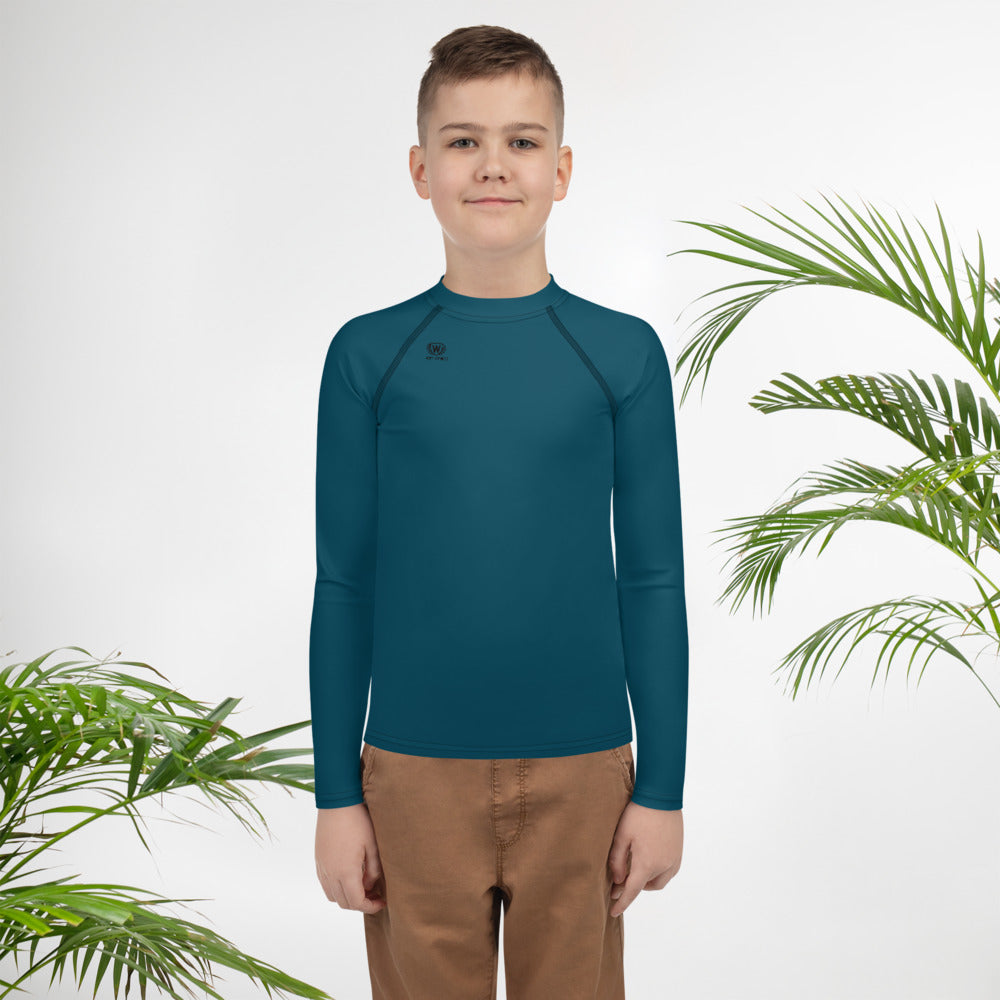 West Apparels Boy's long sleeves Rash Guard