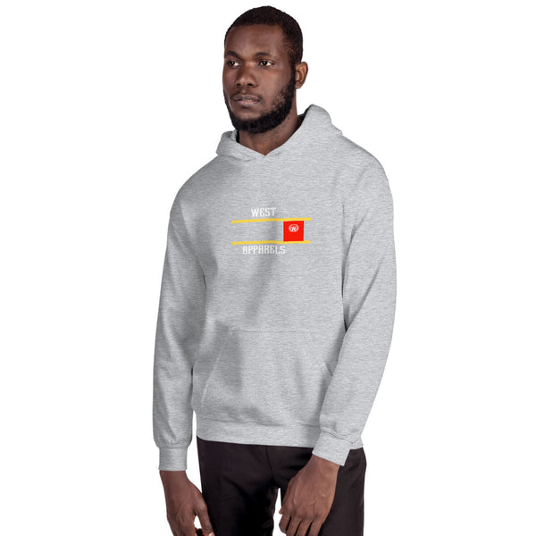 Men's West Apparels Men's West  Fleece Solid Hoodie