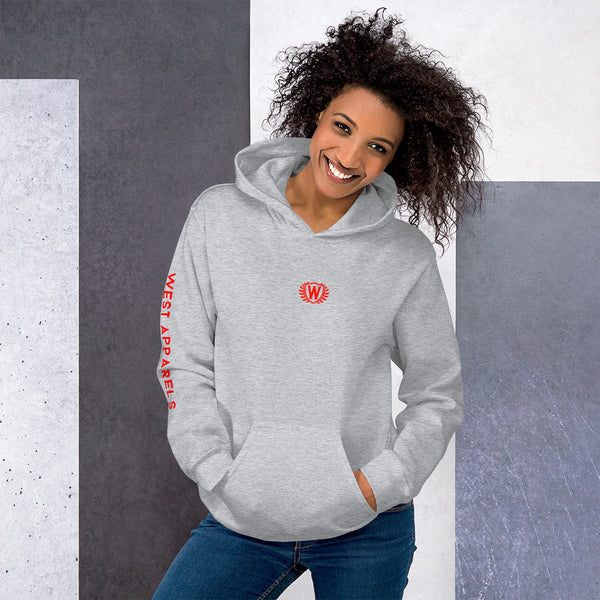 West Apparels Pullover Hoodie Sweatshirt for Women