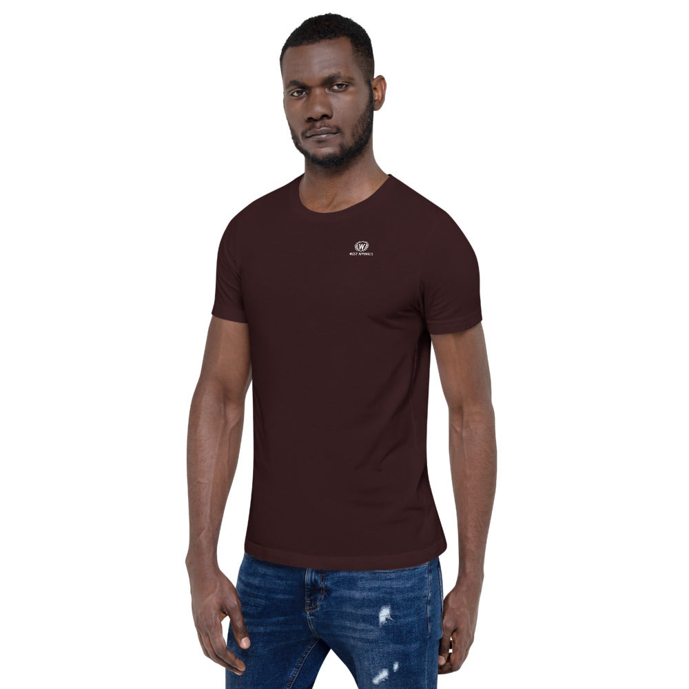 Men's West Apparels Crew Neck Short-Sleeve T Shirt