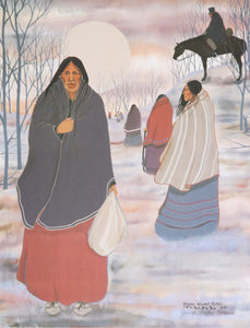 WOMEN ON TRAIL OF TEARS