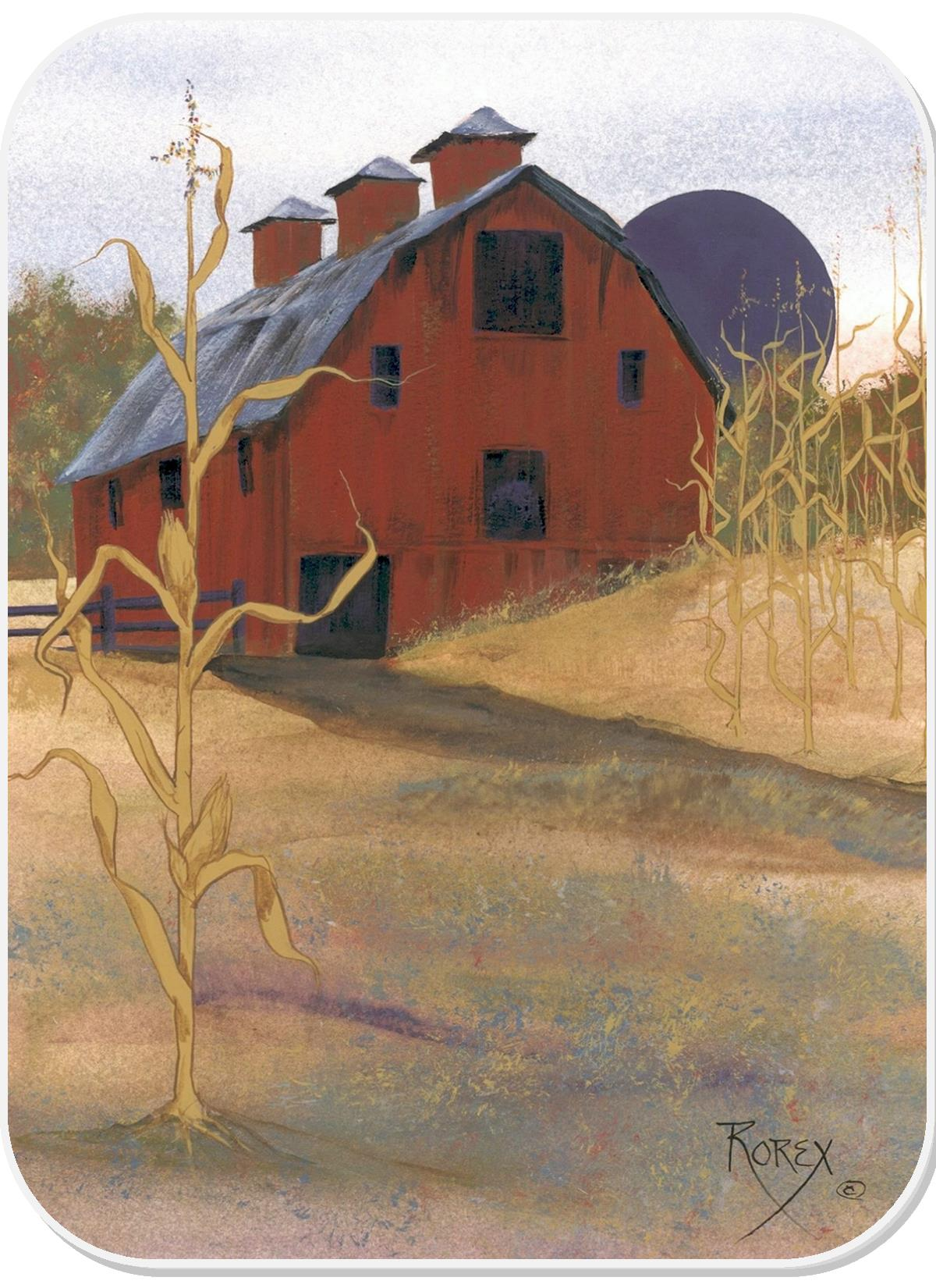 RED CORNFIELD BARN