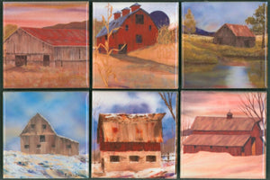 BARN MAGNET SET MS.4