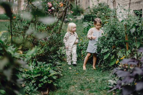 Luxe Tribe Wellness Dispensary - Nature Space Children in Nature