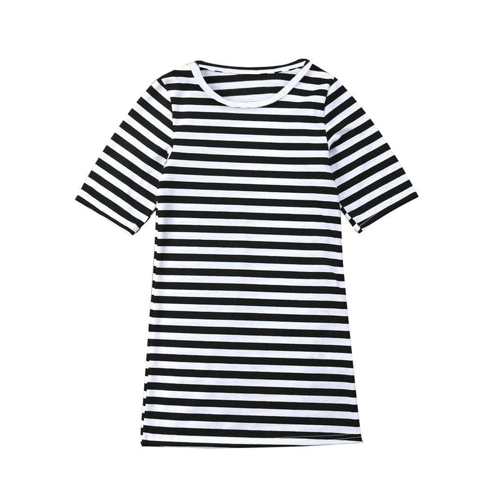 Earned Our Stripes Dress- Mommy and Me Dresses