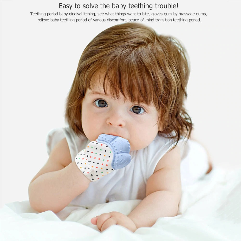 Baby Teether Pacifier Glove