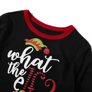 What the Elf-Christmas Pajamas