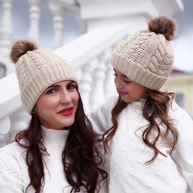 Burrrr Hats- Mommy and Me