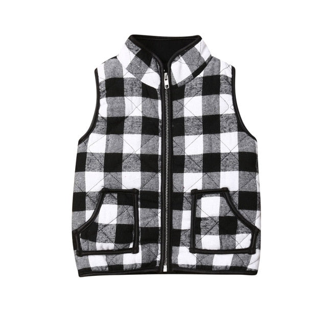 The snuggle is real- Winter Vest