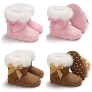 Bow Booties- Snow Boots