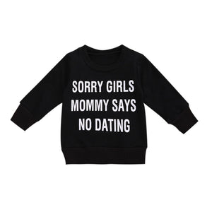 No Dating-Sweatshirt