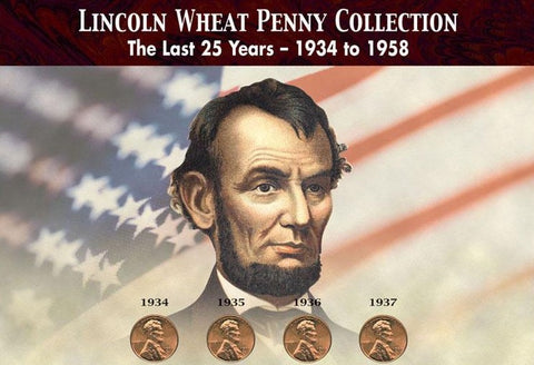Lincoln Wheat Penny Collection