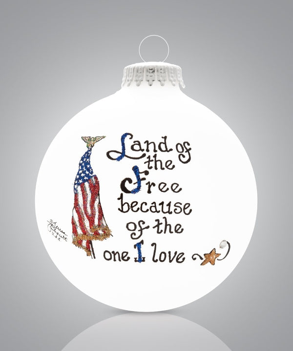 Loved One - Land of the Free Ornament