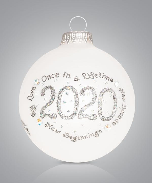 2020 Christmas Ornament - Silver