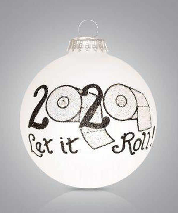 2020 Let it Roll Ornament