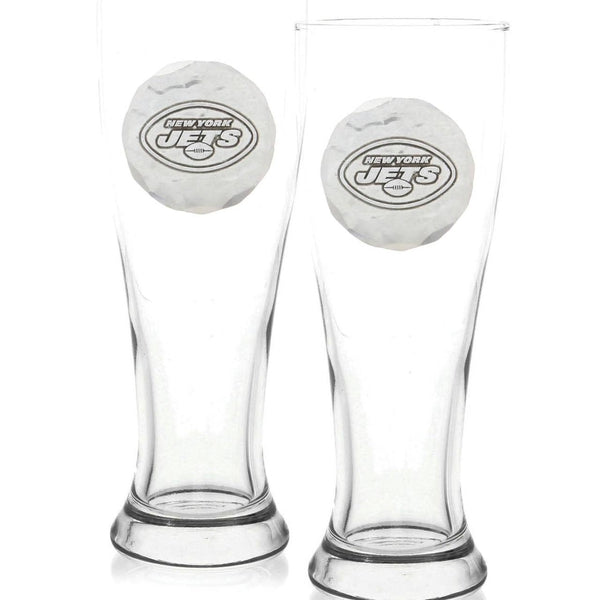 New York Jets 2-Piece Pilsner Set