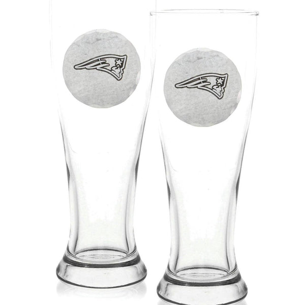 New England Patriots 2-Piece Pilsner Set