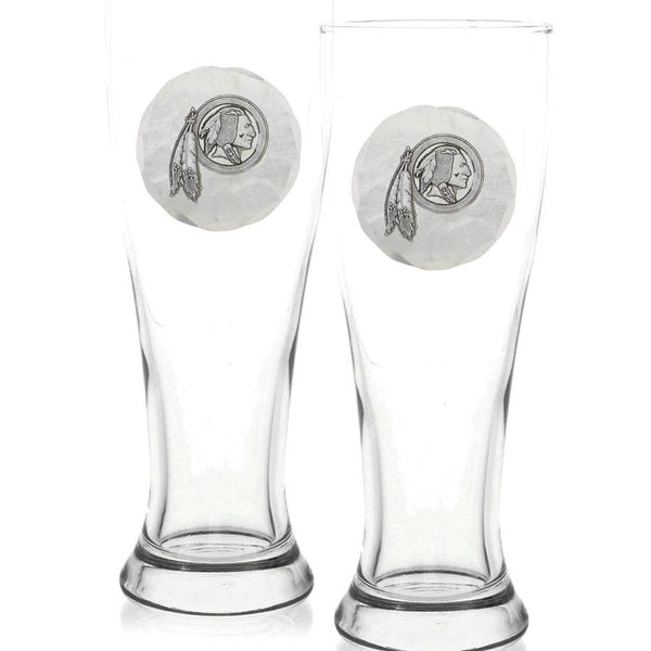 Washington Redskins 2 Piece Pilsner Set