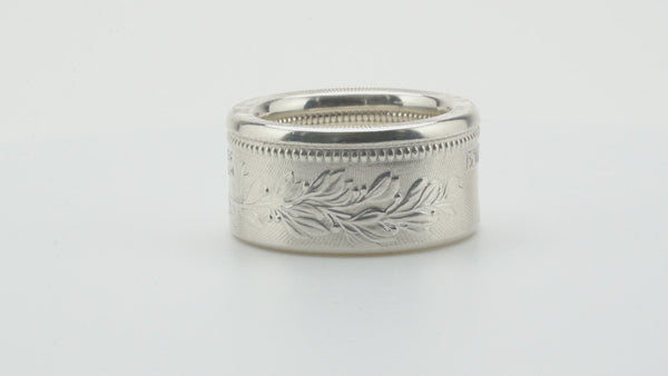 John Wick Continental Hotel Silver Coin Ring