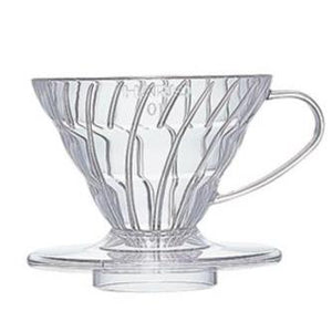 Hario Coffee Dripper V60 01 - Clear Plastic - Wexford Coffee Roasters