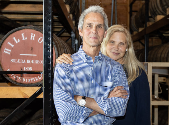 Owners Jeffrey Baker and Cathy Franklin