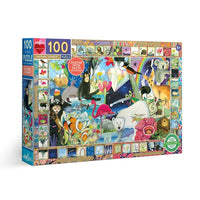 Natural Science 100-Piece Jigsaw Puzzle