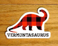 Vermontasaurus Sticker