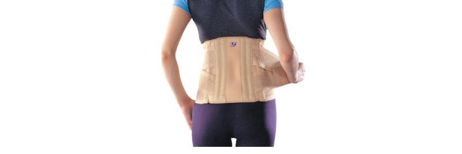 Lumbar brace support