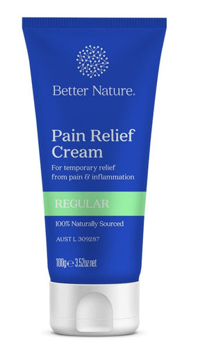 Better Nature Pain Relief Cream 100g - Spinal Wellness