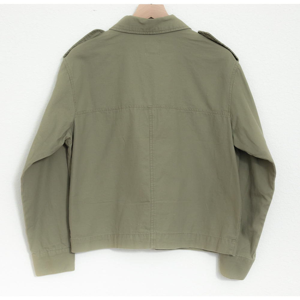 Cropped Utility Shirt - Jacket
