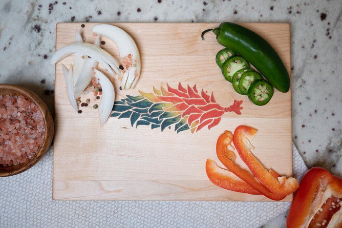 Chile Ristra Cutting Board