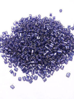 11/0 Purple Amethyst Silver Lined Hex Seed Beads