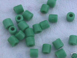 Teal Green Tube Beads 8mm 4 Hemp Purse Handle 4mm Hole