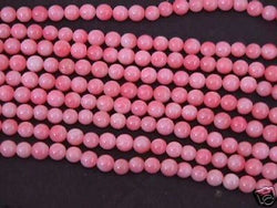 Pink Bamboo Coral  Beads 4mm Natural Beads