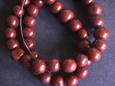 Brown Tagua Nut Wood Beads 10mm 12mm 20pc