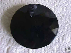 Celestial Crystal Black Rivoli Pendant Beads 45mm