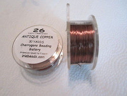 Antique Copper 26 Gauge  Bead Craft Wire 90ft