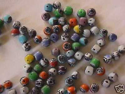 Color Mix Evil Eye Beads 50pc 4mm 5mm Mystic Turkey Eye
