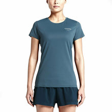 Load image into Gallery viewer, Nikelab Women's Gyakusou Dri-Fit Racer Top - Slate Blue/Velvet Brown