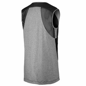Nike Women's Bonded Lifestyle Top - Carbon Grey/Black