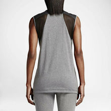 Load image into Gallery viewer, Nike Women's Bonded Lifestyle Top - Carbon Grey/Black